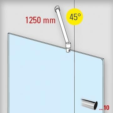 douchewand-stabilisatieset-muuraansluiting-45-1250mm-chroom-glaskoning