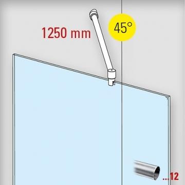 douchewand-stabilisatieset-muuraansluiting-45-1250mm-rvs-glaskoning